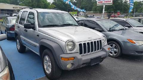 2003 Jeep Liberty for sale at Bill Bailey's Affordable Auto Sales in Lake Charles LA