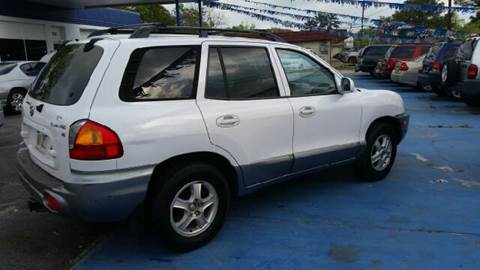 2002 Hyundai Santa Fe for sale at Bill Bailey's Affordable Auto Sales in Lake Charles LA