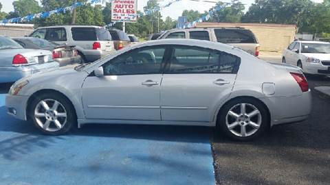 2005 Nissan Maxima for sale at Bill Bailey's Affordable Auto Sales in Lake Charles LA