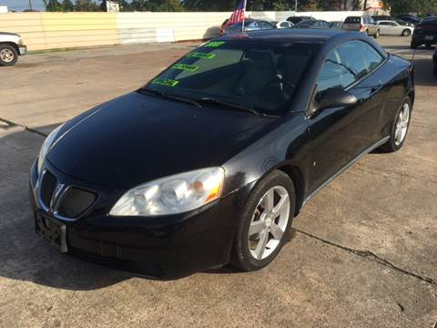 2007 Pontiac G6 for sale in Pasadena, TX