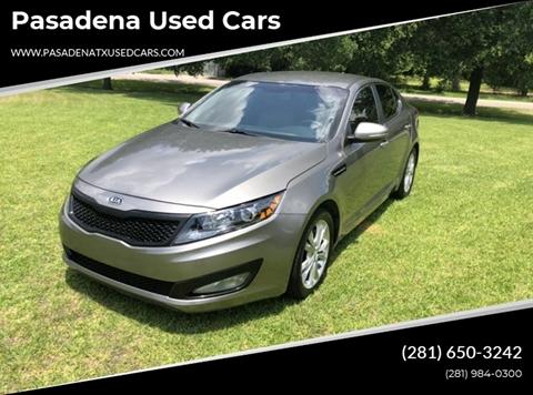 2013 Kia Optima for sale in Pasadena, TX