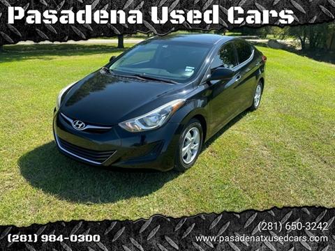 2015 Hyundai Elantra for sale in Pasadena, TX