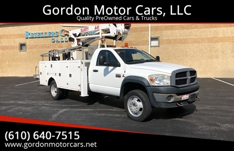 2008 Dodge Ram Chassis 5500 for sale in Malvern, PA