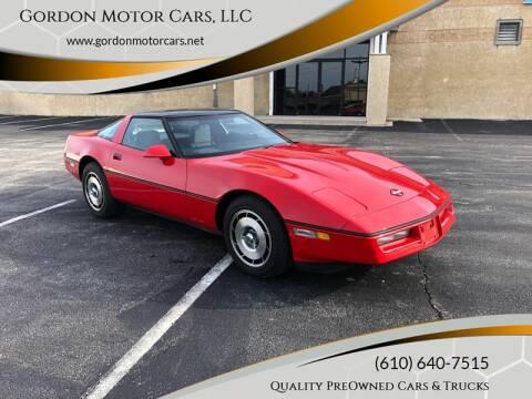 1985 Chevrolet Corvette for sale at Gordon Motor Cars, LLC in Frazer PA