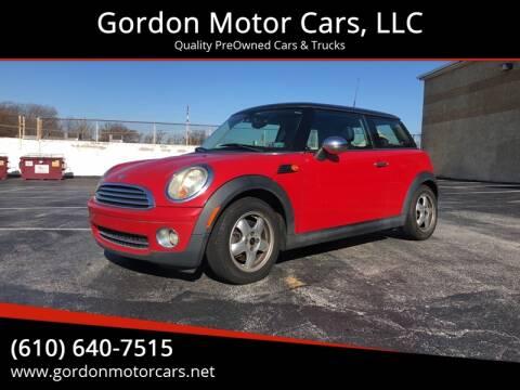 2007 MINI Cooper for sale at Gordon Motor Cars, LLC in Frazer PA