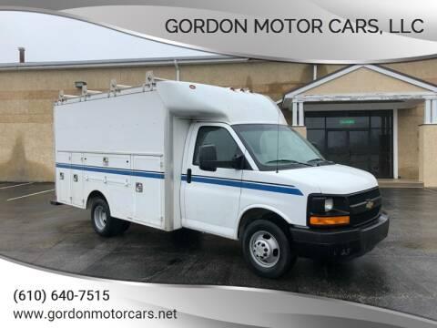 2016 Chevrolet Express Cutaway 3500 for sale at Gordon Motor Cars, LLC in Frazer PA