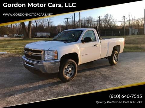 2014 Chevrolet Silverado 2500HD Work Truck for sale at Gordon Motor Cars, LLC in Frazer PA
