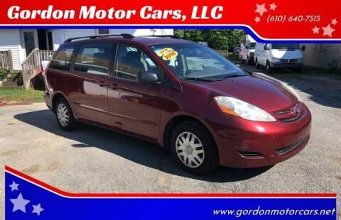 2008 Toyota Sienna CE 7-Passenger for sale at Gordon Motor Cars, LLC in Frazer PA