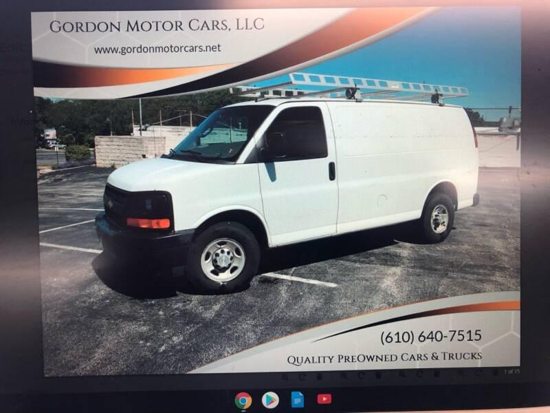 2017 Chevrolet Express Cargo for sale at Gordon Motor Cars, LLC in Frazer PA