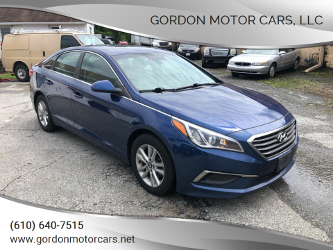 2016 Hyundai Sonata for sale at Gordon Motor Cars, LLC in Frazer PA