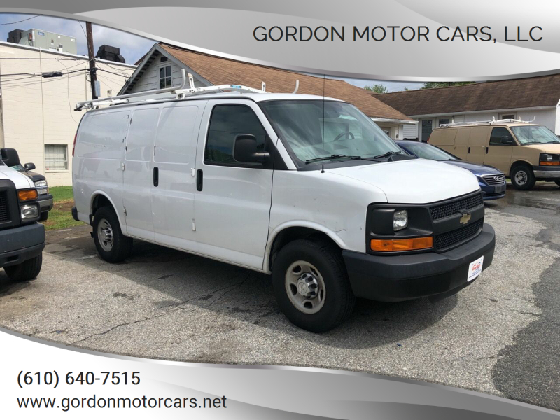 2015 Chevrolet Express Cargo for sale at Gordon Motor Cars, LLC in Frazer PA