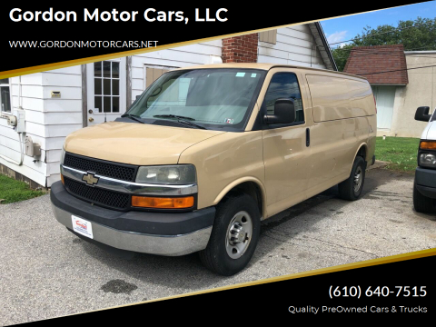 2011 Chevrolet Express Cargo for sale at Gordon Motor Cars, LLC in Frazer PA