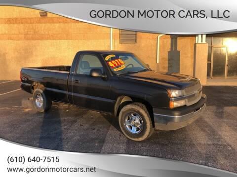 2004 Chevrolet Silverado 1500 for sale at Gordon Motor Cars, LLC in Frazer PA