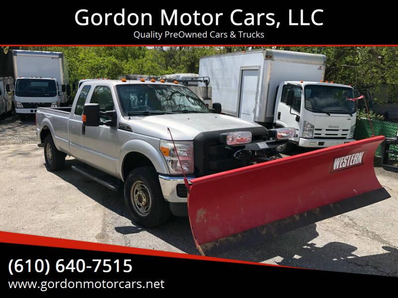 2011 Ford F-250 Super Duty for sale at Gordon Motor Cars, LLC in Frazer PA