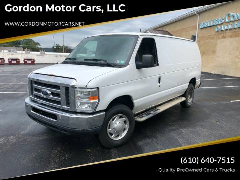 2012 Ford E-Series Cargo for sale at Gordon Motor Cars, LLC in Frazer PA