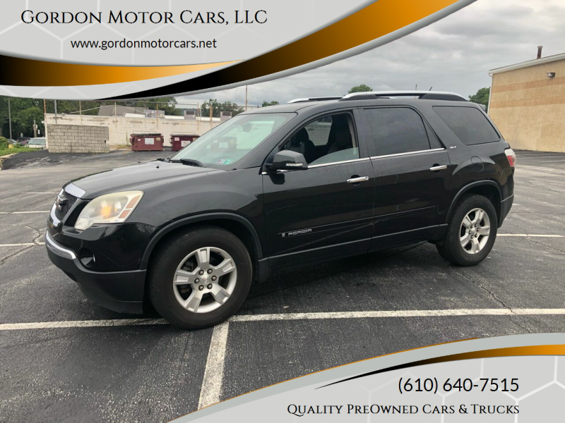 2008 GMC Acadia for sale at Gordon Motor Cars, LLC in Frazer PA