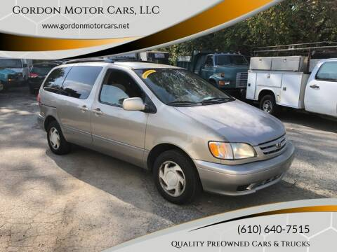 2003 Toyota Sienna for sale at Gordon Motor Cars, LLC in Frazer PA