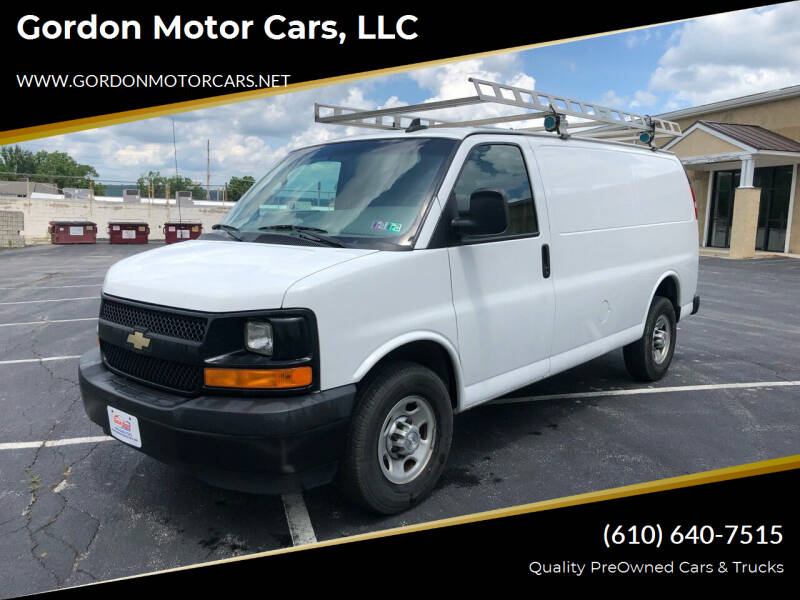 2017 Chevrolet Express Cargo for sale at Gordon Motor Cars, LLC in Frazer PA