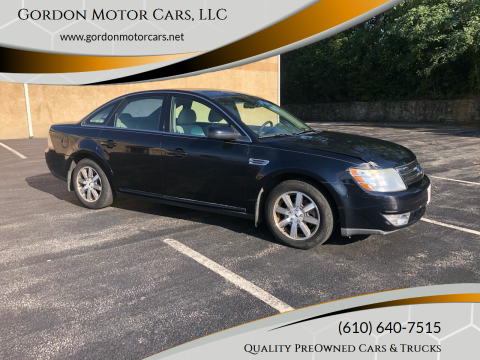 2008 Ford Taurus for sale at Gordon Motor Cars, LLC in Frazer PA
