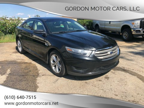 2015 Ford Taurus for sale at Gordon Motor Cars, LLC in Frazer PA
