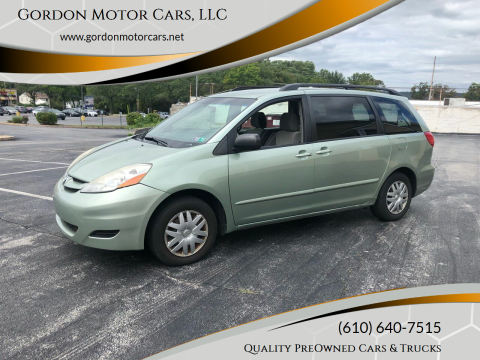 2010 Toyota Sienna for sale at Gordon Motor Cars, LLC in Frazer PA