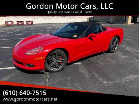 2007 Chevrolet Corvette for sale at Gordon Motor Cars, LLC in Frazer PA