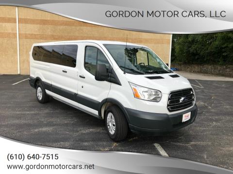 2015 Ford Transit Passenger for sale at Gordon Motor Cars, LLC in Frazer PA