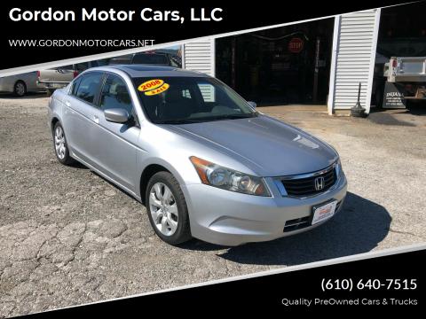 2008 Honda Accord for sale at Gordon Motor Cars, LLC in Frazer PA