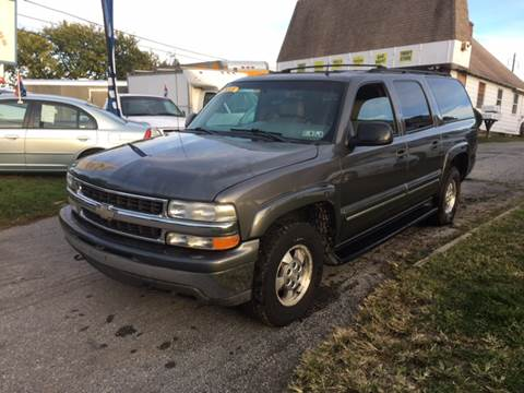 2002 Chevrolet Suburban for sale in Malvern, PA