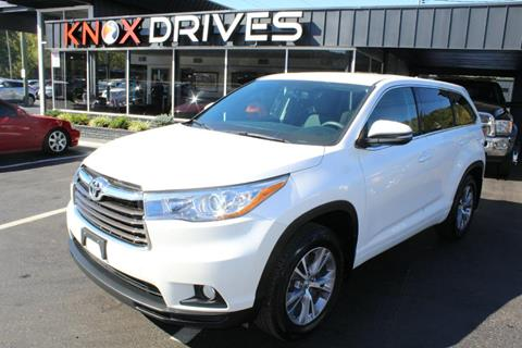 2015 Toyota Highlander for sale in Knoxville, TN
