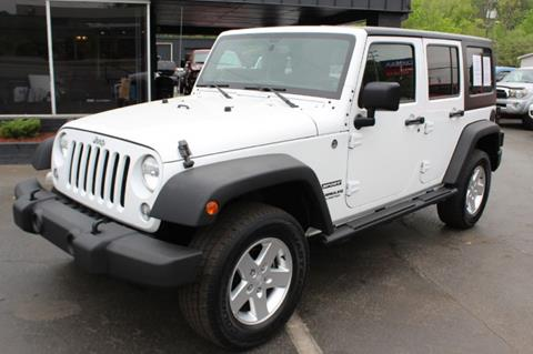 2014 Jeep Wrangler Unlimited for sale in Knoxville, TN