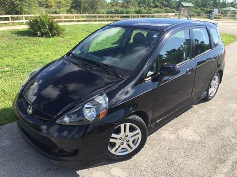 2008 Honda Fit for sale at Tropical Motors Car Sales in Pompano Beach FL