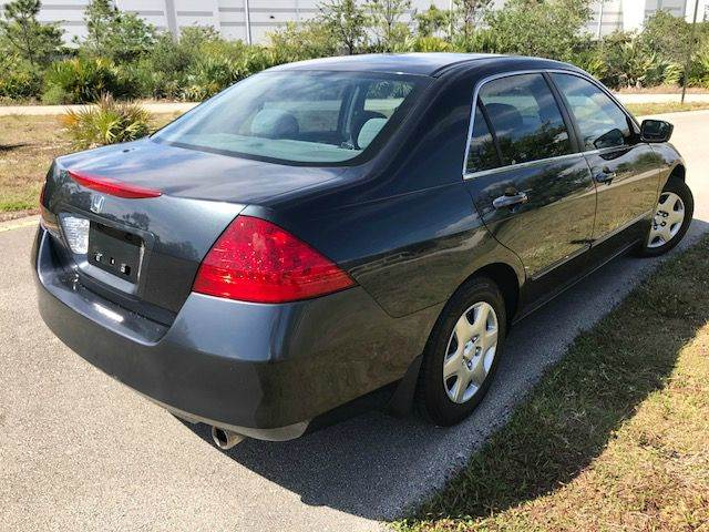 2007 Honda Accord for sale at Tropical Motors Car Sales in Pompano Beach FL