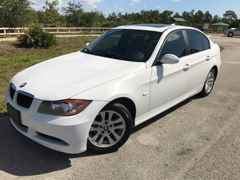 2006 BMW 3 Series for sale at Tropical Motors Car Sales in Pompano Beach FL