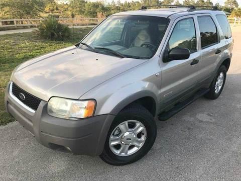 2001 Ford Escape for sale at Tropical Motors Car Sales in Pompano Beach FL