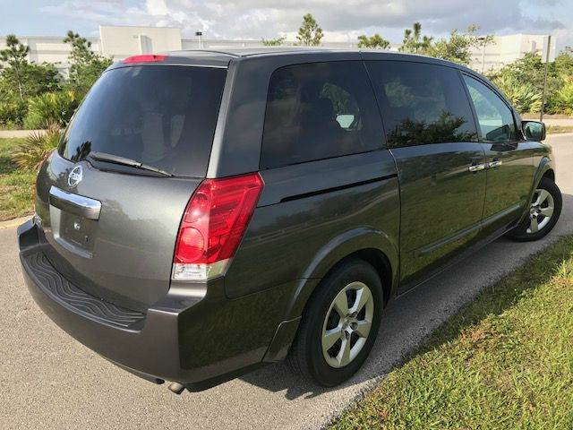 2008 Nissan Quest for sale at Tropical Motors Car Sales in Pompano Beach FL