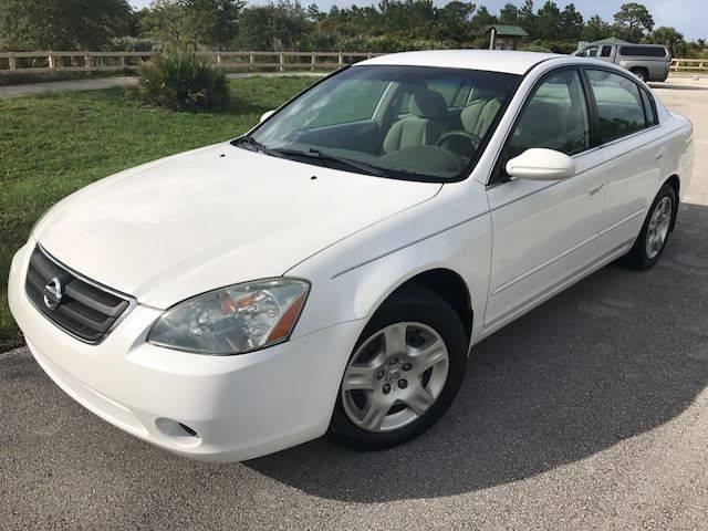 2003 Nissan Altima for sale at Tropical Motors Car Sales in Pompano Beach FL