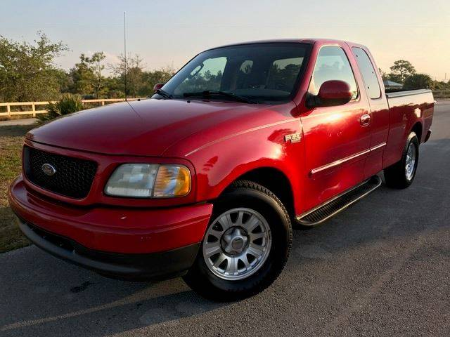 2003 Ford F-150 for sale at Tropical Motors Car Sales in Pompano Beach FL