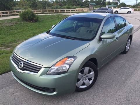 2007 Nissan Altima for sale at Tropical Motors Car Sales in Pompano Beach FL
