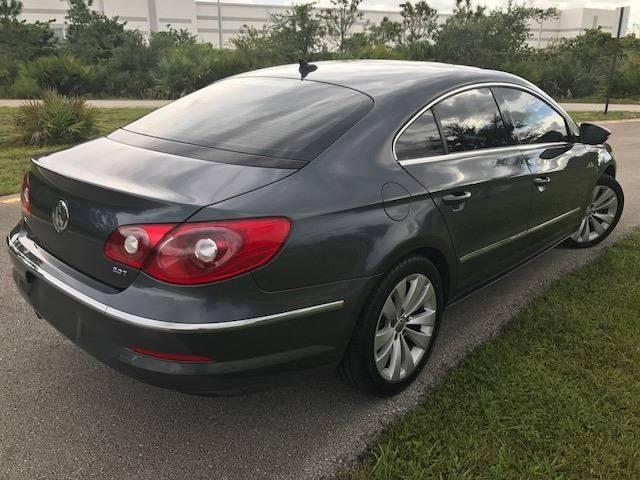 2010 Volkswagen CC for sale at Tropical Motors Car Sales in Pompano Beach FL
