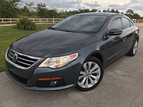2010 Volkswagen CC for sale at Tropical Motors Car Sales in Pompano Beach FL