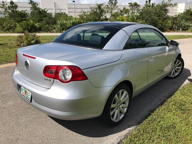 2010 Volkswagen Eos for sale at Tropical Motors Car Sales in Pompano Beach FL