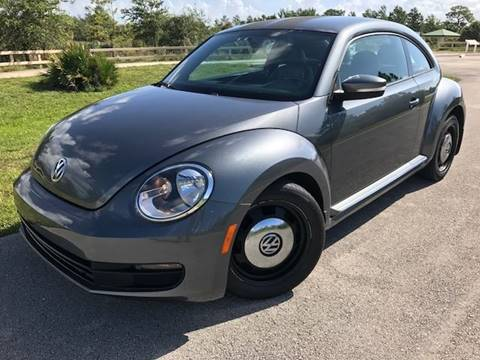 2012 Volkswagen Beetle for sale at Tropical Motors Car Sales in Pompano Beach FL