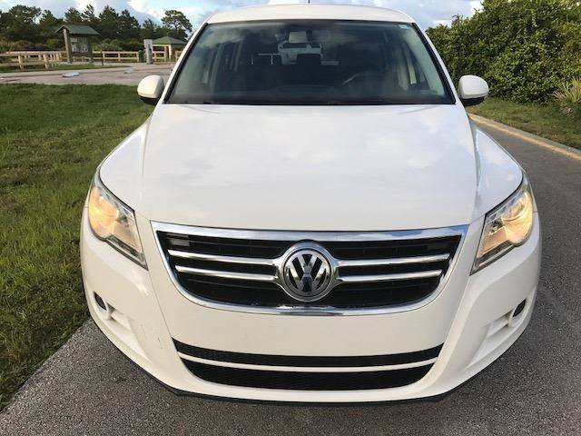 2010 Volkswagen Tiguan for sale at Tropical Motors Car Sales in Pompano Beach FL