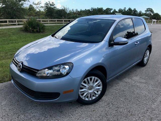 2011 Volkswagen Golf for sale at Tropical Motors Car Sales in Pompano Beach FL