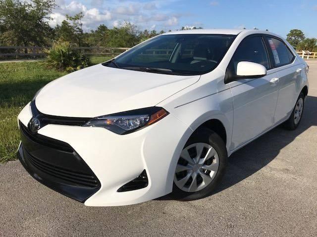 2017 Toyota Corolla for sale at Tropical Motors Car Sales in Pompano Beach FL