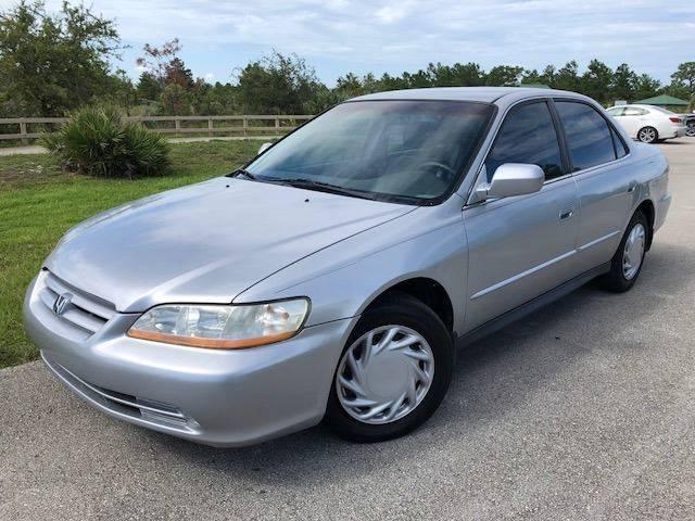 2002 Honda Accord For Sale At Tropical Motors Car Sales In Pompano Beach FL