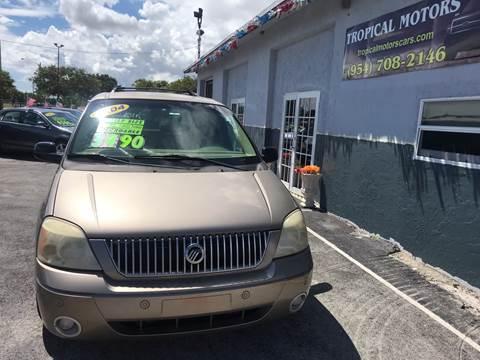 2004 Mercury Monterey for sale in Pompano Beach, FL