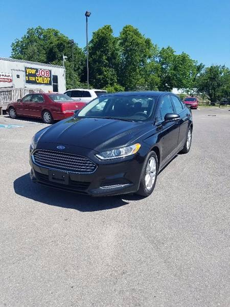 2014 Ford Fusion SE 4dr Sedan - Houston TX