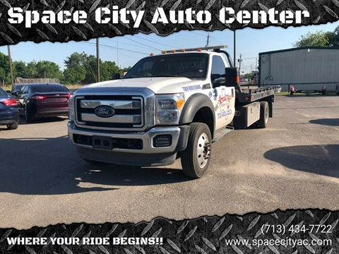 2013 Ford F-550 Super Duty for sale at Space City Auto Center in Houston TX